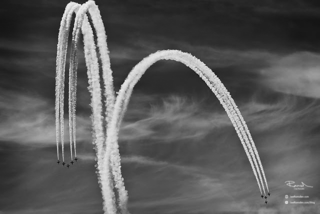 Red Arrows RAF Royal Air Force Air Show Photography