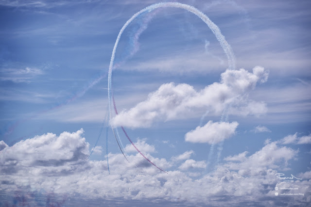 Red Arrows UK RAF, Royal Air Force Air Show Photography