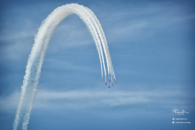 Red Arrows lee ramsden air show photographer