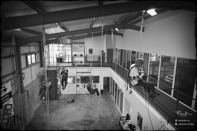 IRATA rope access ropes climbing Blackpool Training TALLON TALON NDT Harness offshore oil and gas north sea 02