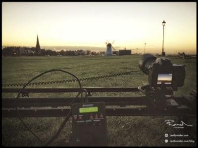 Time Lapse Kessler Crane Lytham St Annes green Nikon D700 shutter rig