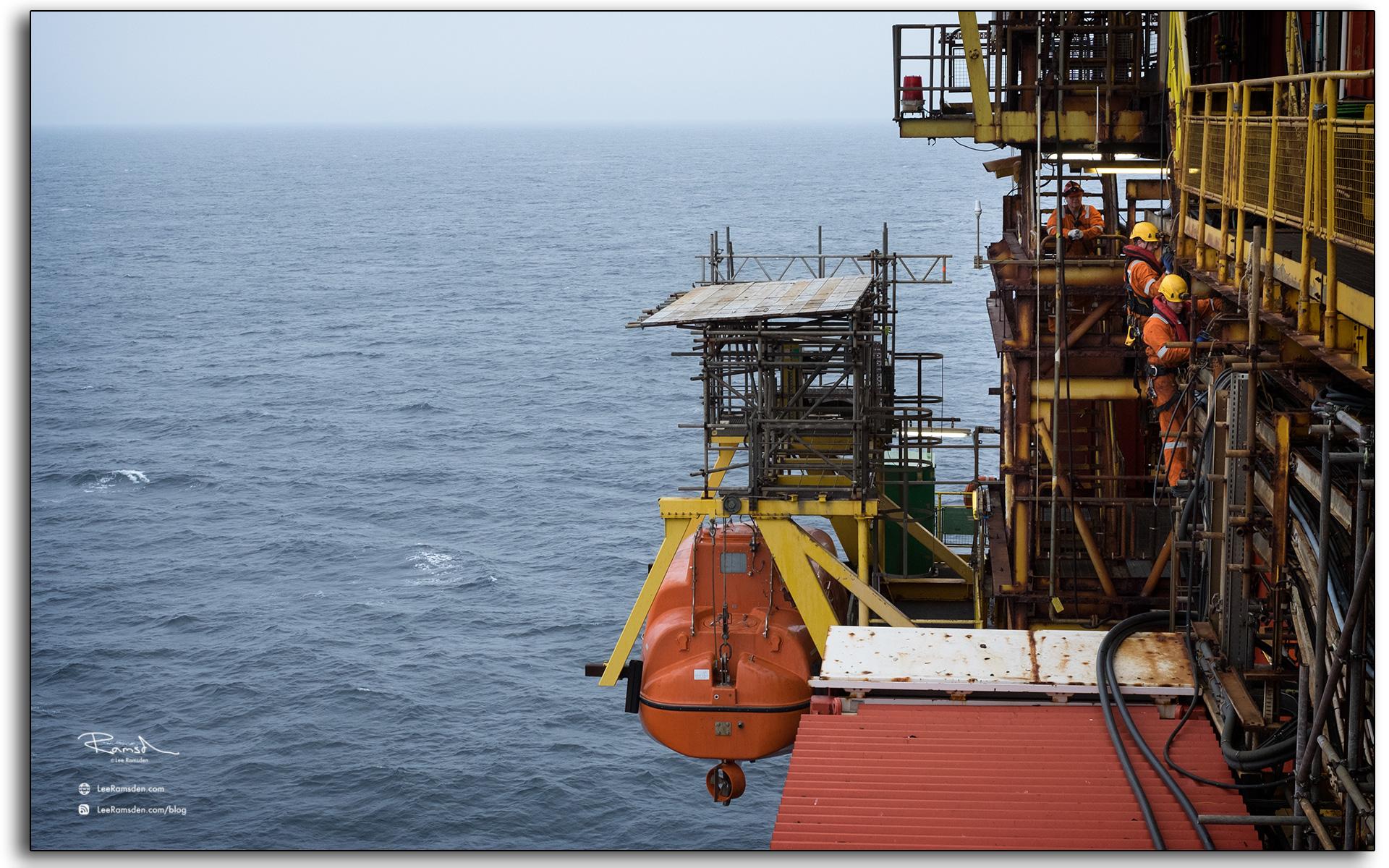 Gordon Hossack Steven Mcleannon Inverness Auk oil rig Talisman