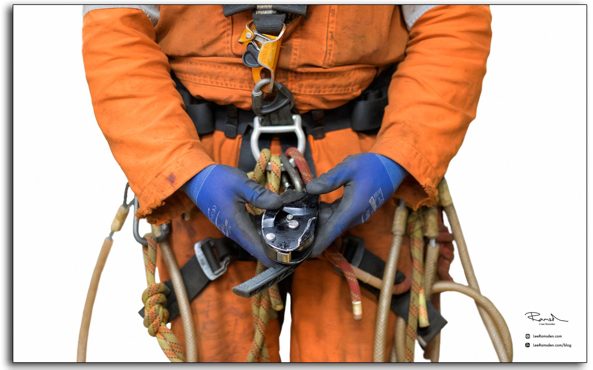 Petzl rig IRATA rope access equipment