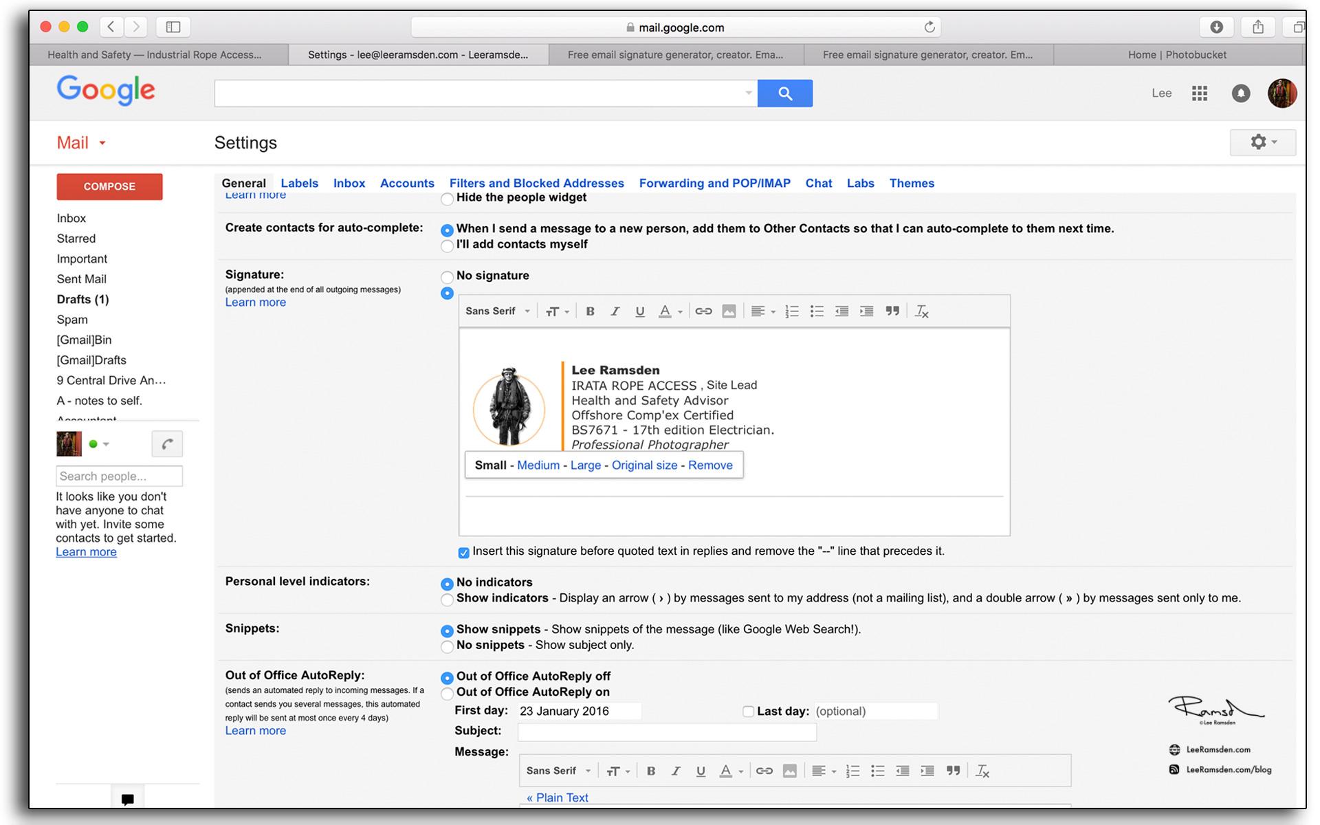 06 email signature google email for free leeramsden.com