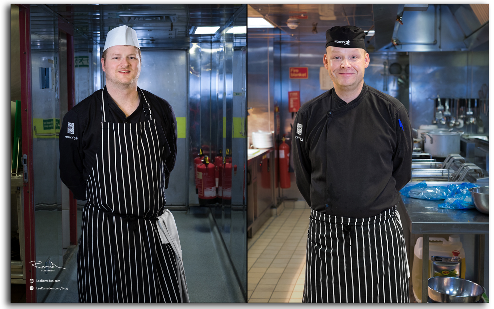 blog Catering, chefs, cooks, kitchen, working, industrial, aramark, offshore, north sea, hospitality, oil rig, BP Miller, Petrofac, hotel, Photo by Lee Ramsden.
