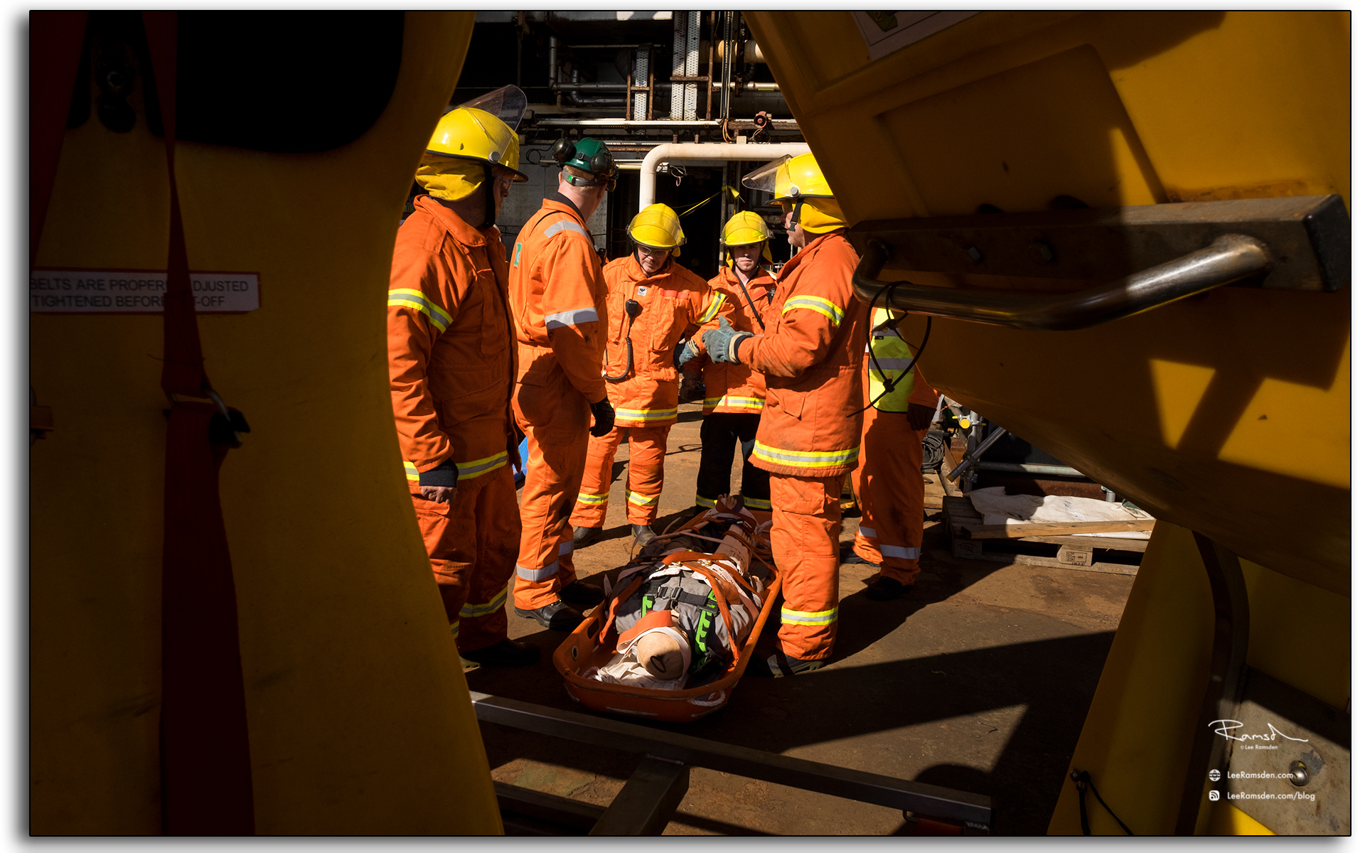 emergency response, drill, fireman, firemen, casuilty, Lee ramsden