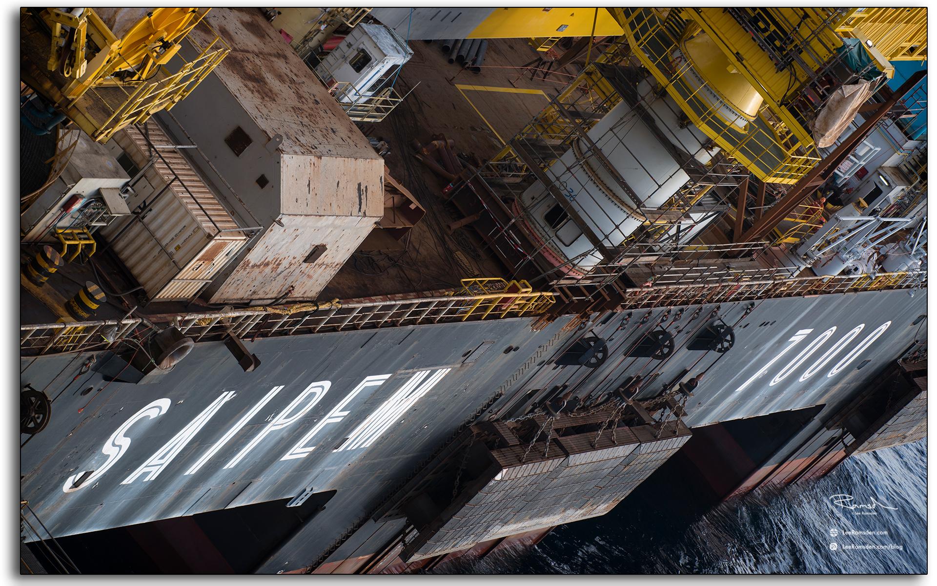 Lifting vessel, heavy, 14 thousand tonnes, S7000, Saipem