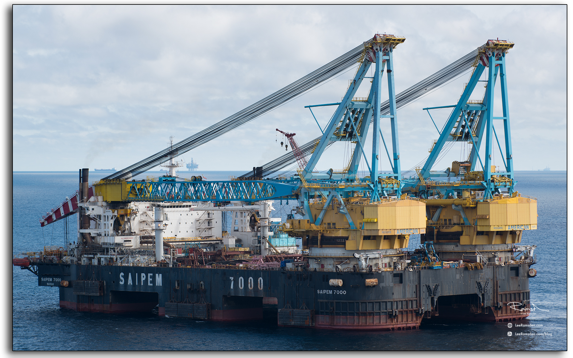 S7000, duel crane, heavy lifting, offshore, oil and gas