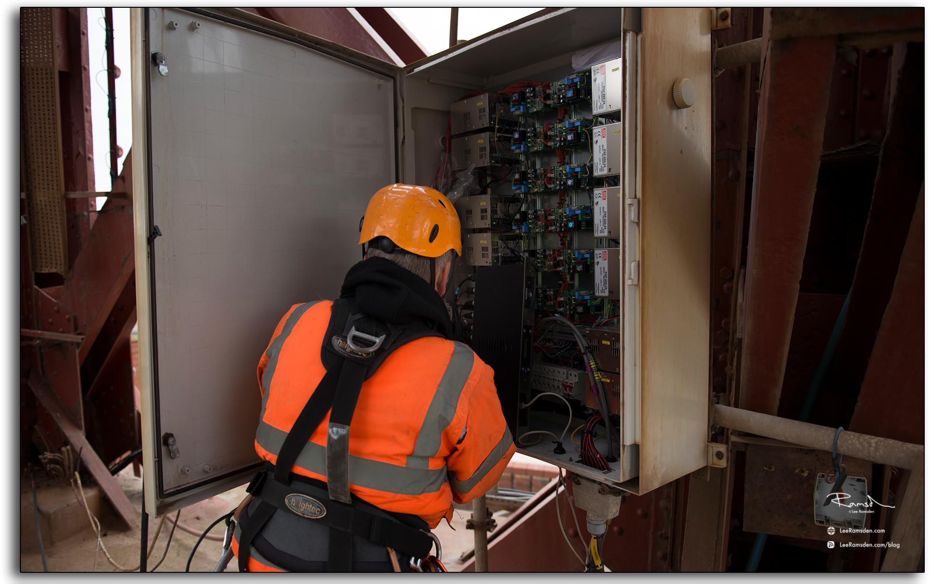 Blackpool illuminations electronics, control gear, electrician, technician