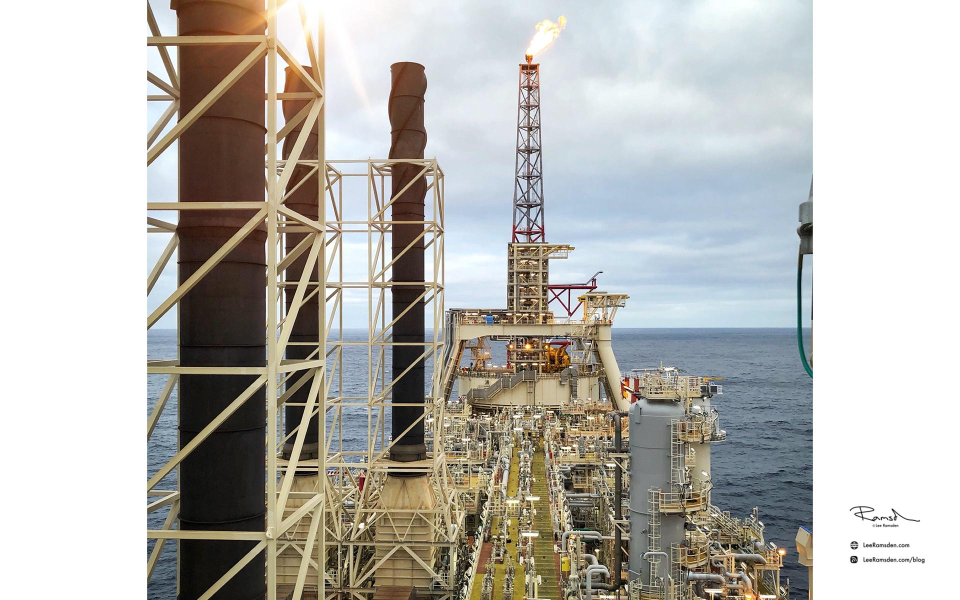 BP Glen Lyon, north sea oil and gas industry, lee ramsden