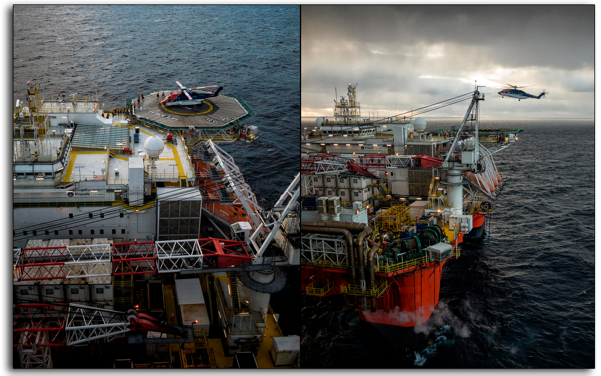 Helicopter, landing, Safe Boreas, Oil and gas, oil rig, Scotland, industry, industrial, Mariner, workers, construction.jpg