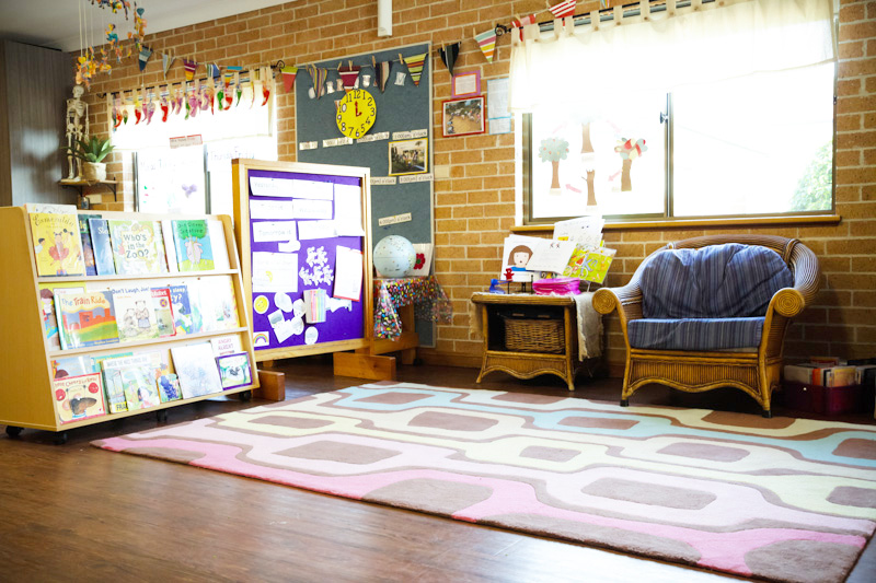 Wombats Room: Children 4 to 6 years of age