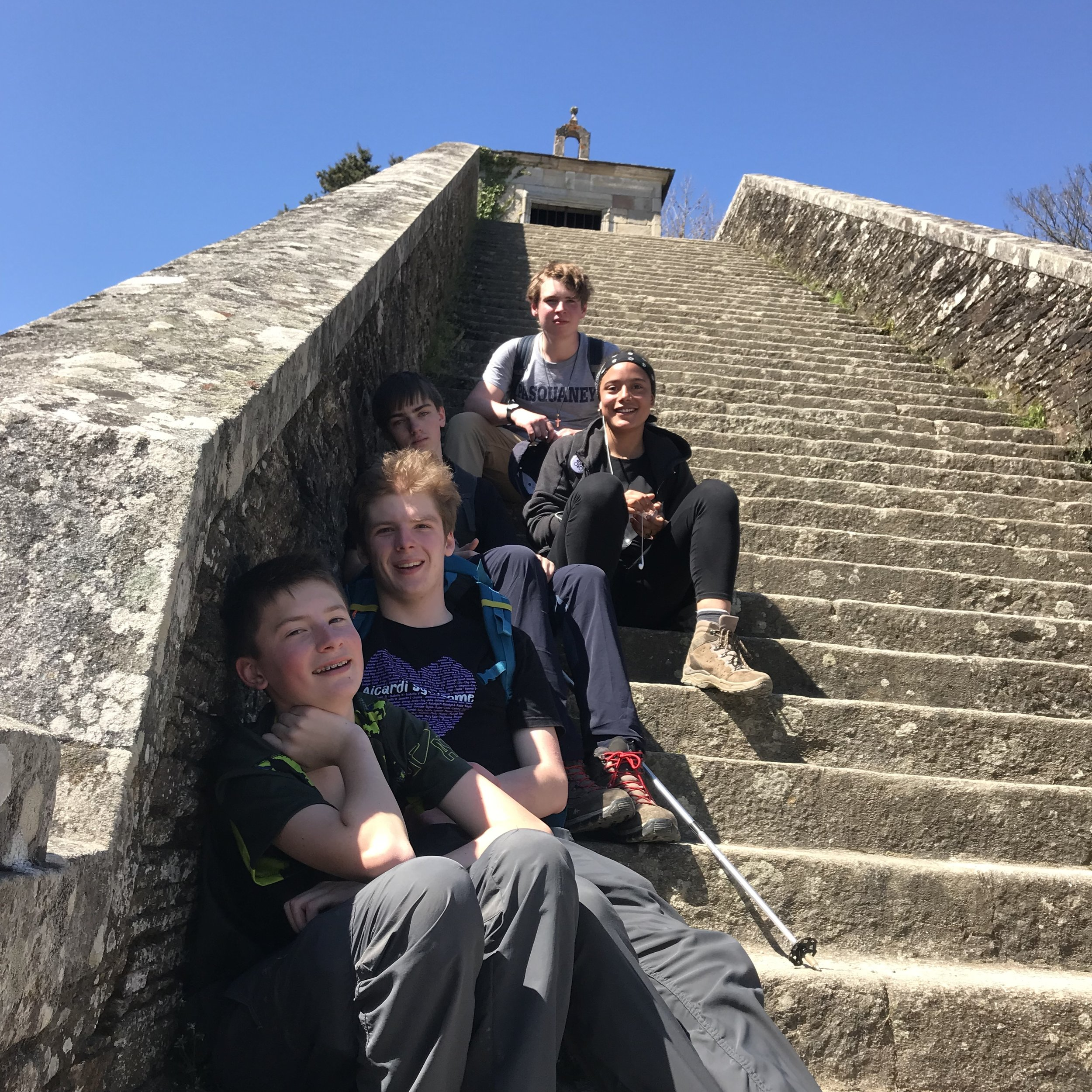 Youth pilgrimage to Santiago de Compostela, May 2018