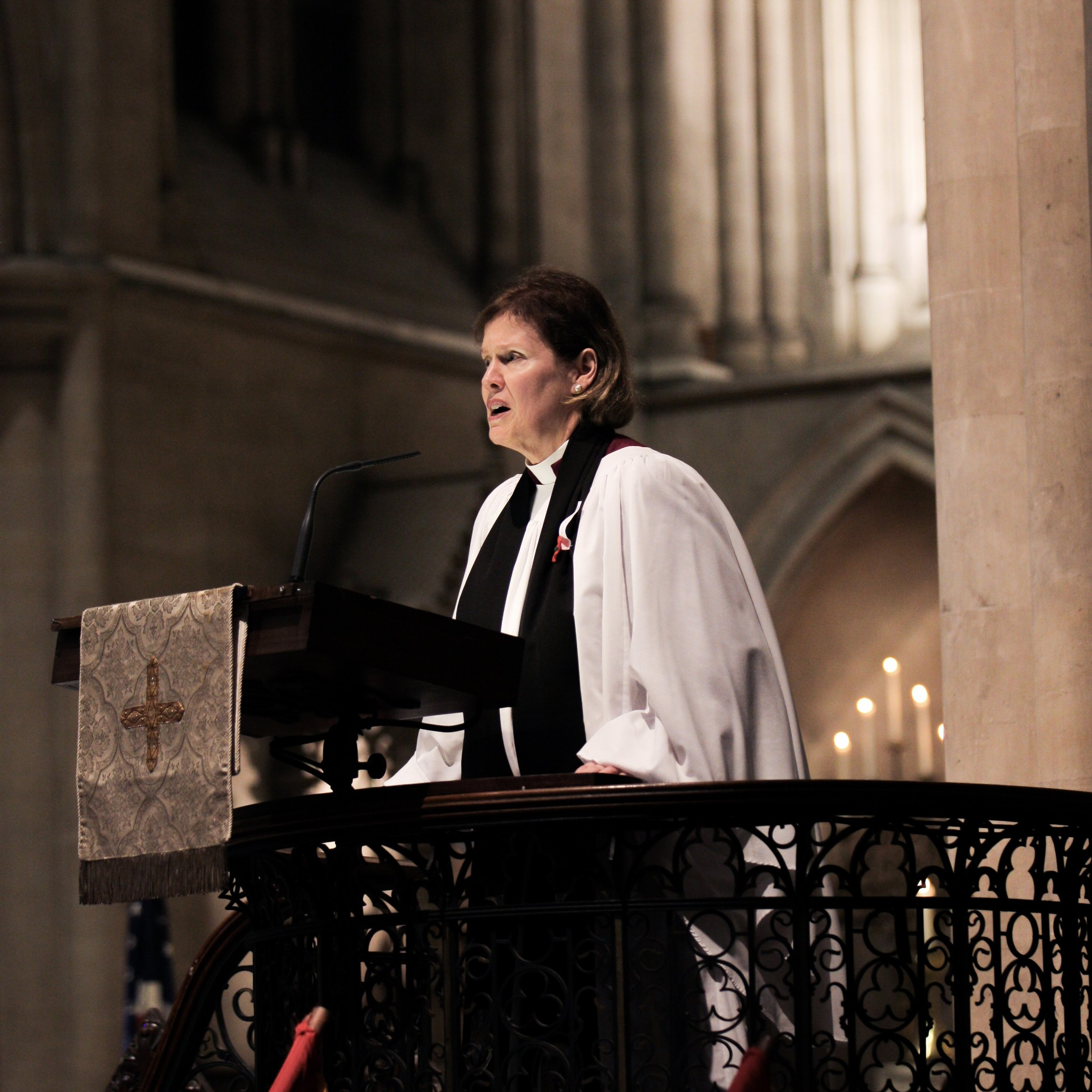 Cathedral Dean & Rector, The Very Rev. Lucinda Laird