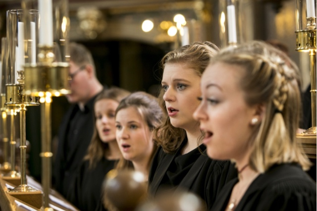 The Exonian Choir, Exeter College, Oxford