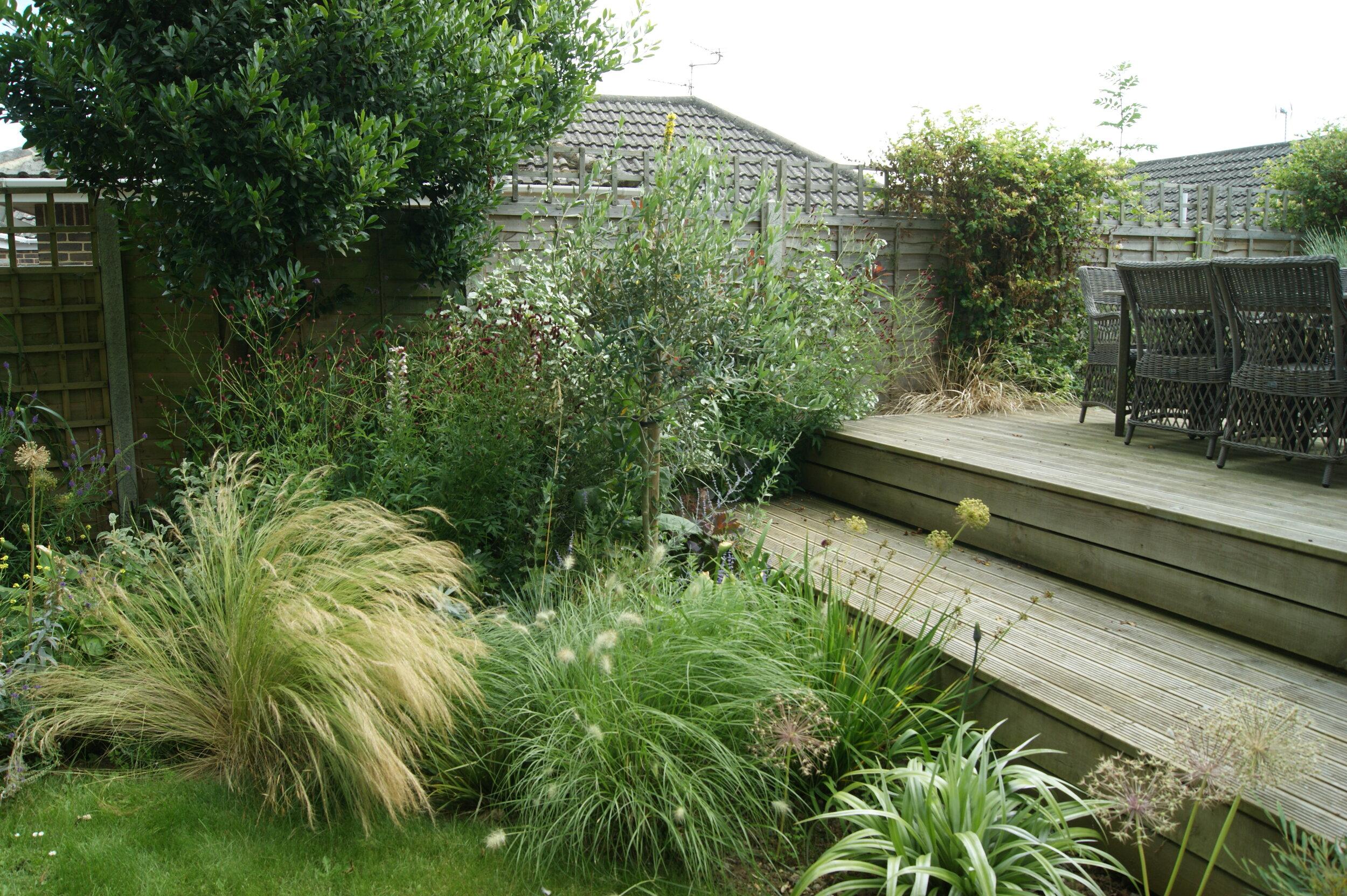 Bembridge Romantic Garden Garden Design On The Isle Of Wight By Janet Beckett Beckett Gardens