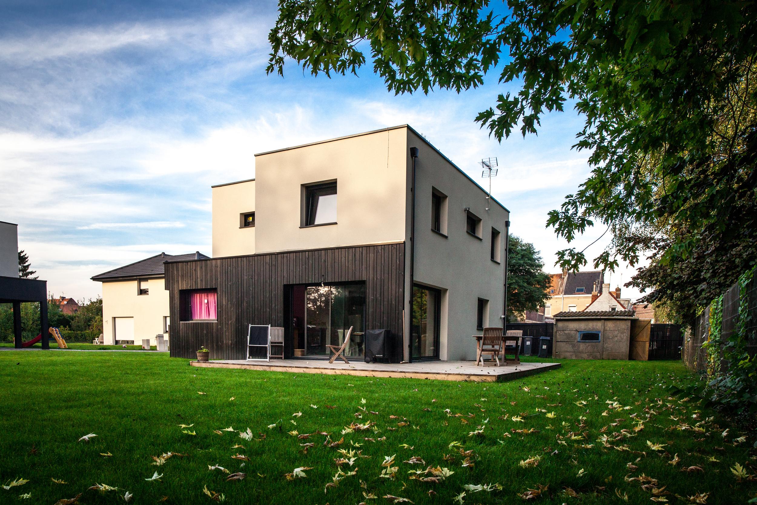 Prises de vue architecturales en vue de la communication de la société Baticoncept.