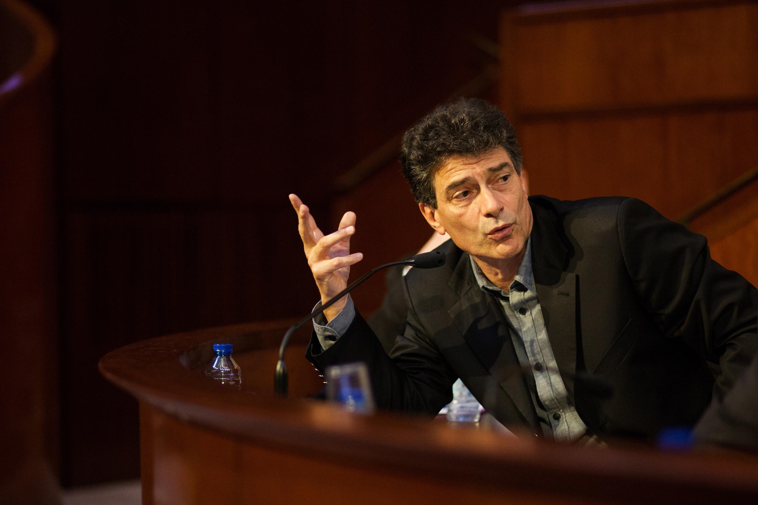 Pascal Durand, eurodéputé EELV.  Etats Généraux de l'Europe, Paris, mai 2014. Mouvement Européen - France & Think Tank Europa Nova
