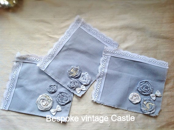 Something blue? Or any colour you like, we make silk and cotton handkerchiefs