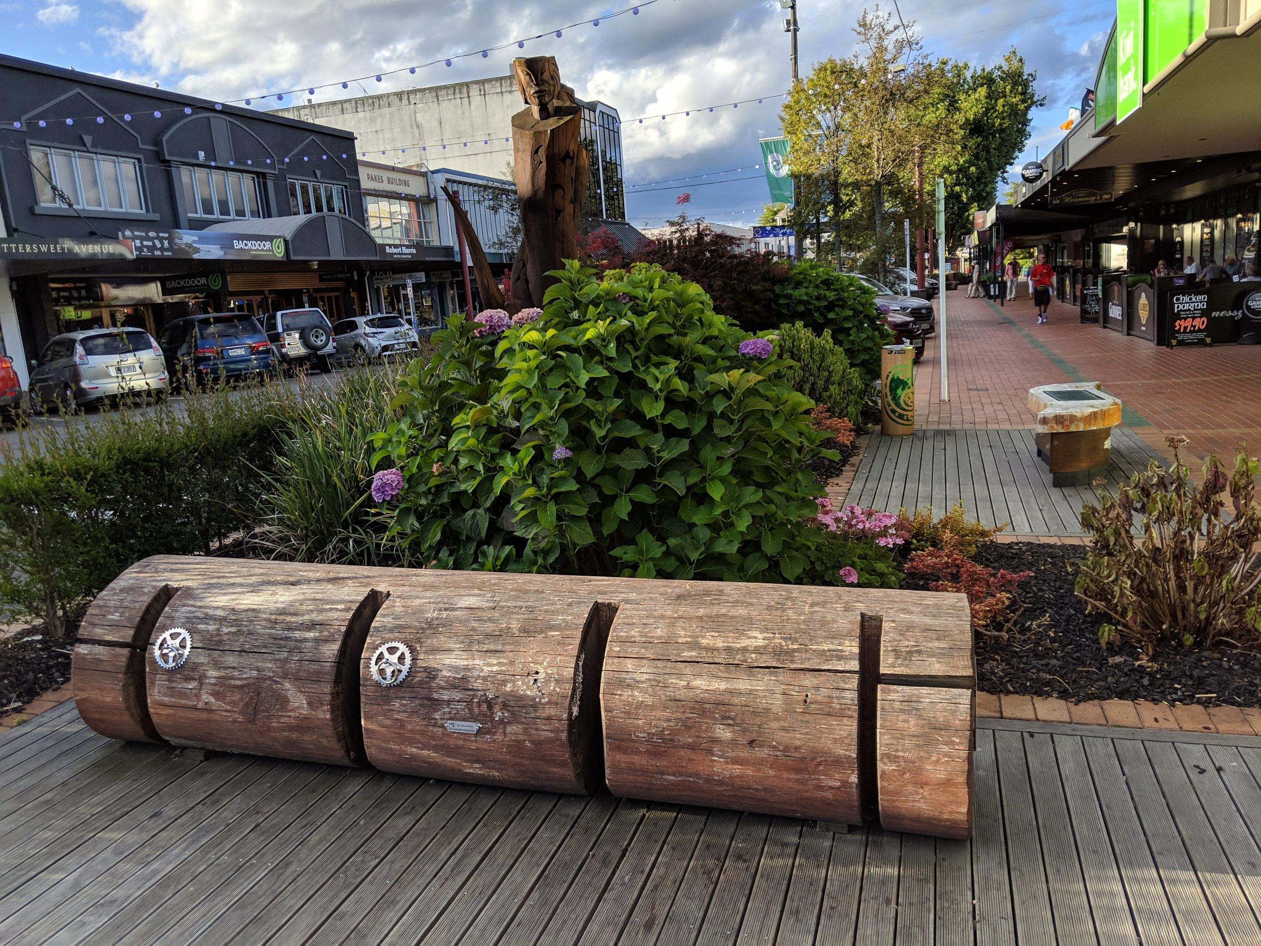 Rotorua bike stand