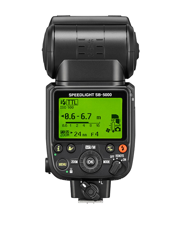 The SB-5000 will be Nikon's first radio controlled speedlight - $599