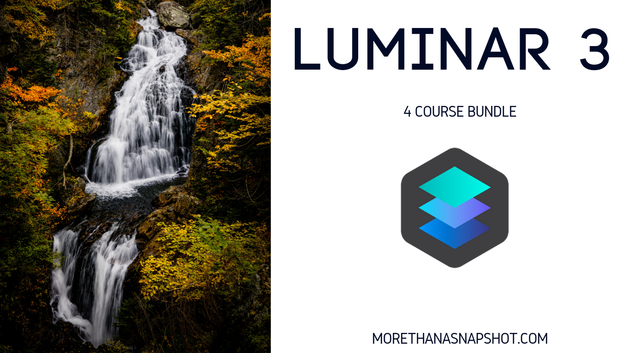 Click on the image above if you would like to get in on this 4 course deal. It includes a class on basic photography, Lightroom, composition, and Luminar 3. Don't miss out on the best deal of the year.
