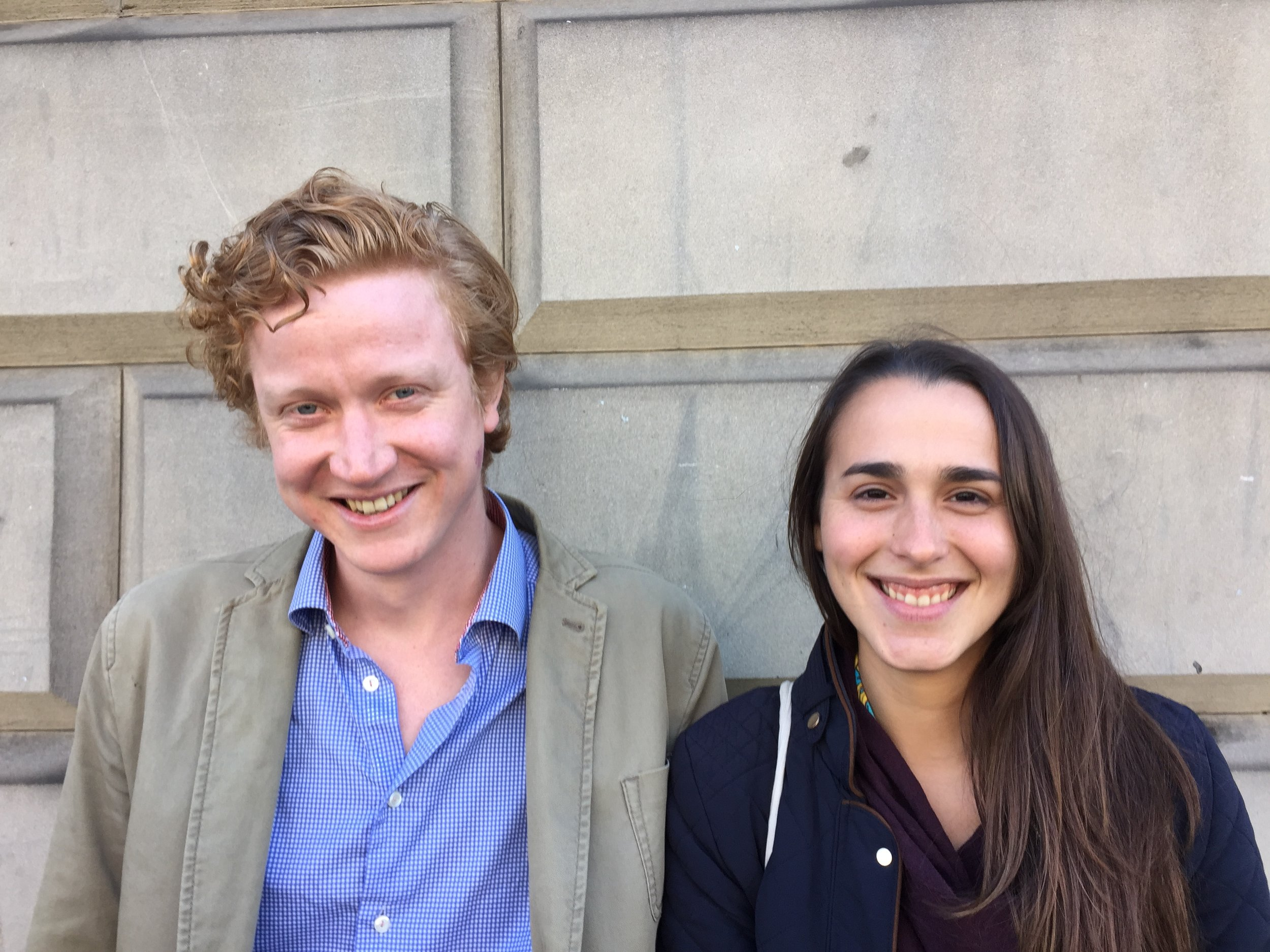 Edinburgh Food Studio founders Ben Reade and Sashana Souza Zanella in 2015.