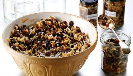 Homemade mincemeat. There's nothing like it!