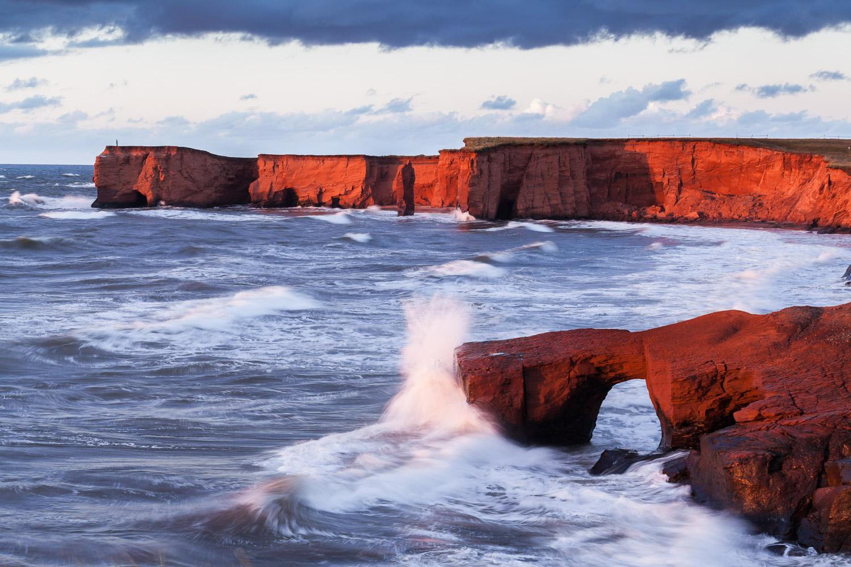 Copy of Landscape photo in the Magdalen Islands - Belle Anse