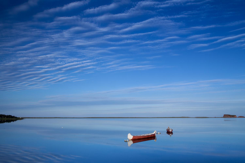 Landscape photo in the Magdalen Islands - Grande Entrée