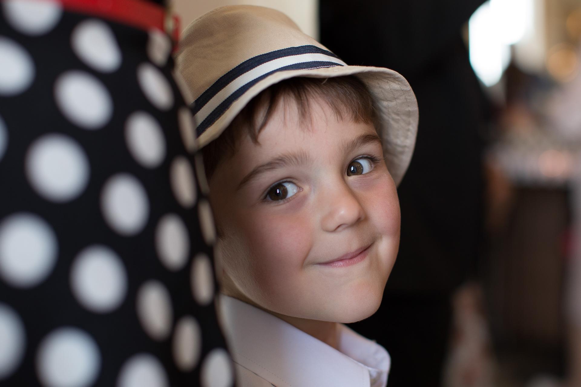 Portrait d'enfant aux Iles de la Madeleine