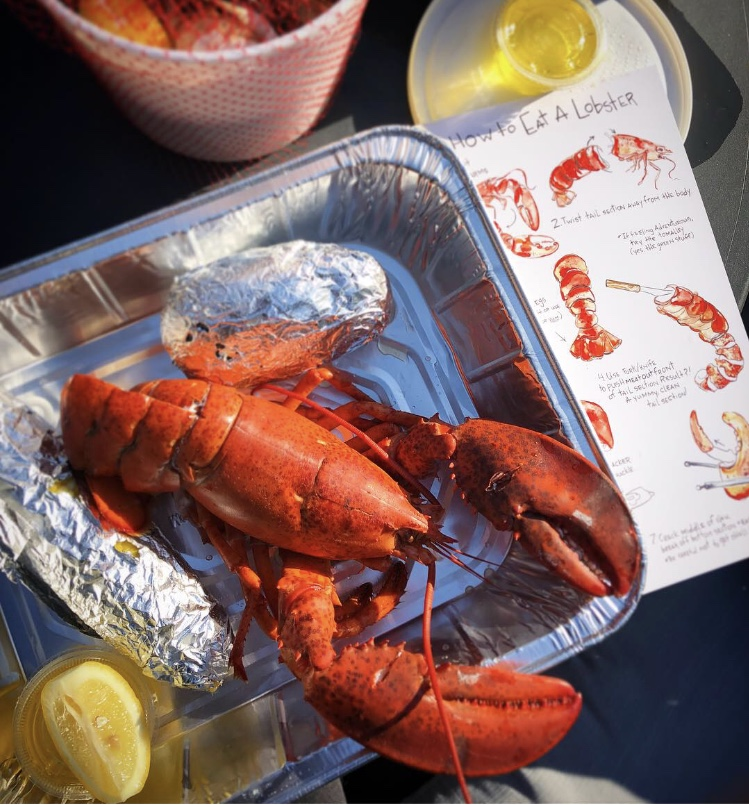 Even got to test them out w/a lobster bake for one (  Matt  cheated & had lobster mac'n'cheese ).