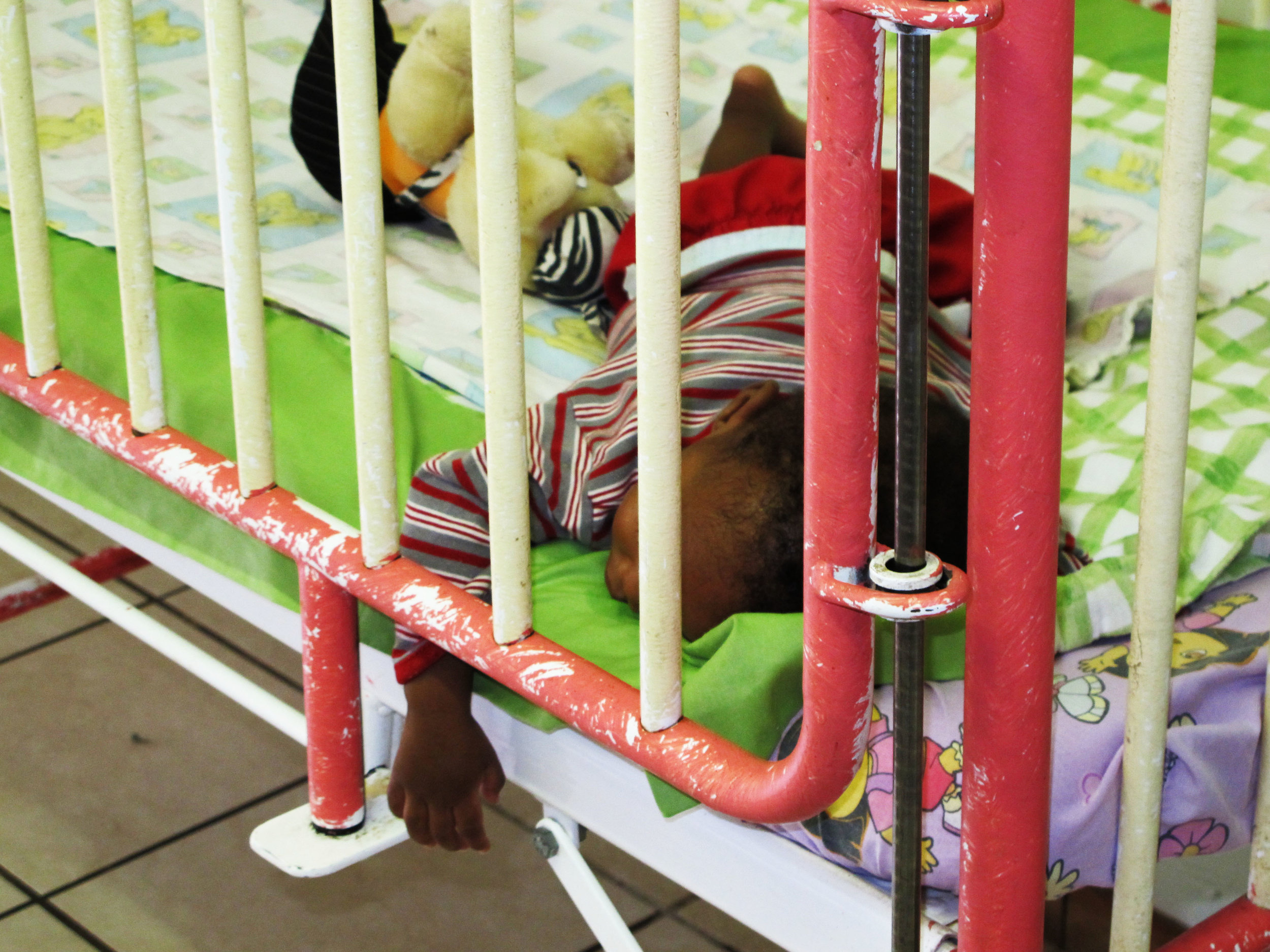 South Africa orphanage crib