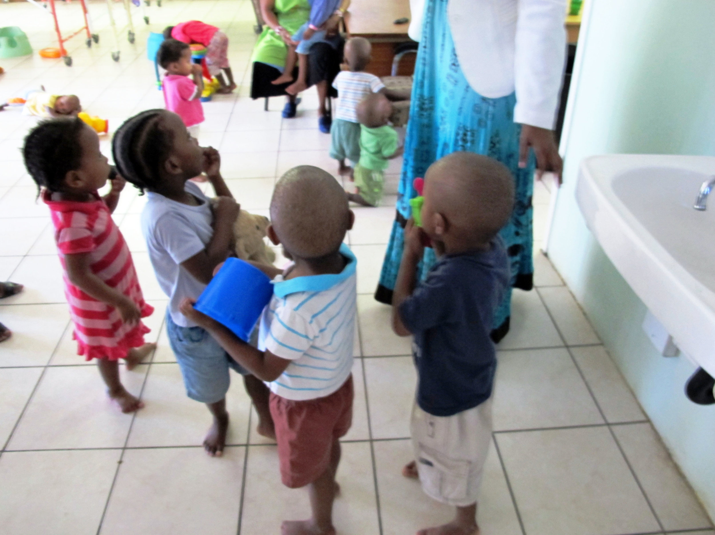 South Africa Orphanage Children