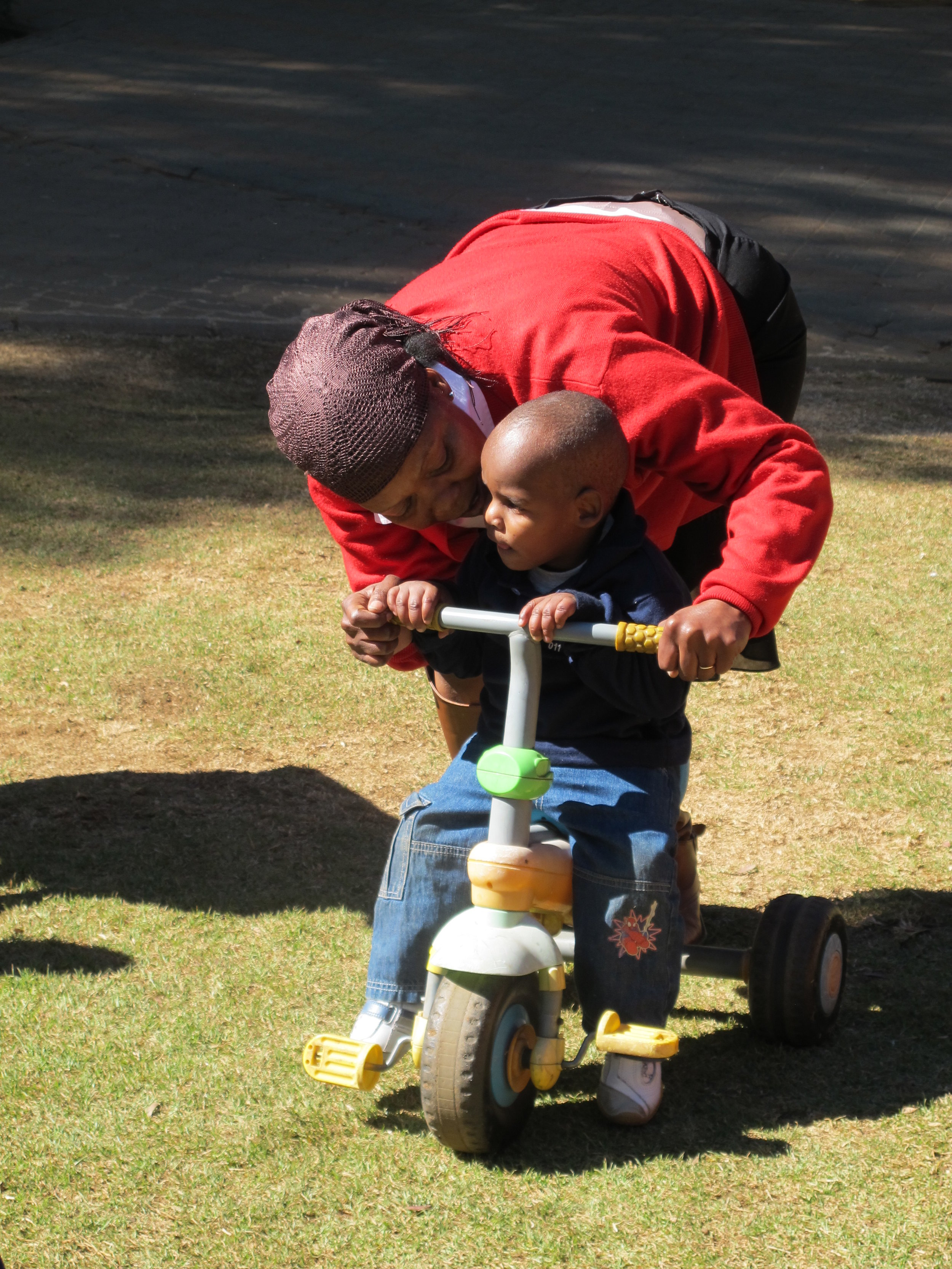 JCW Staff and Child, South Africa 2012