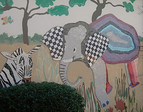 animal mosaic