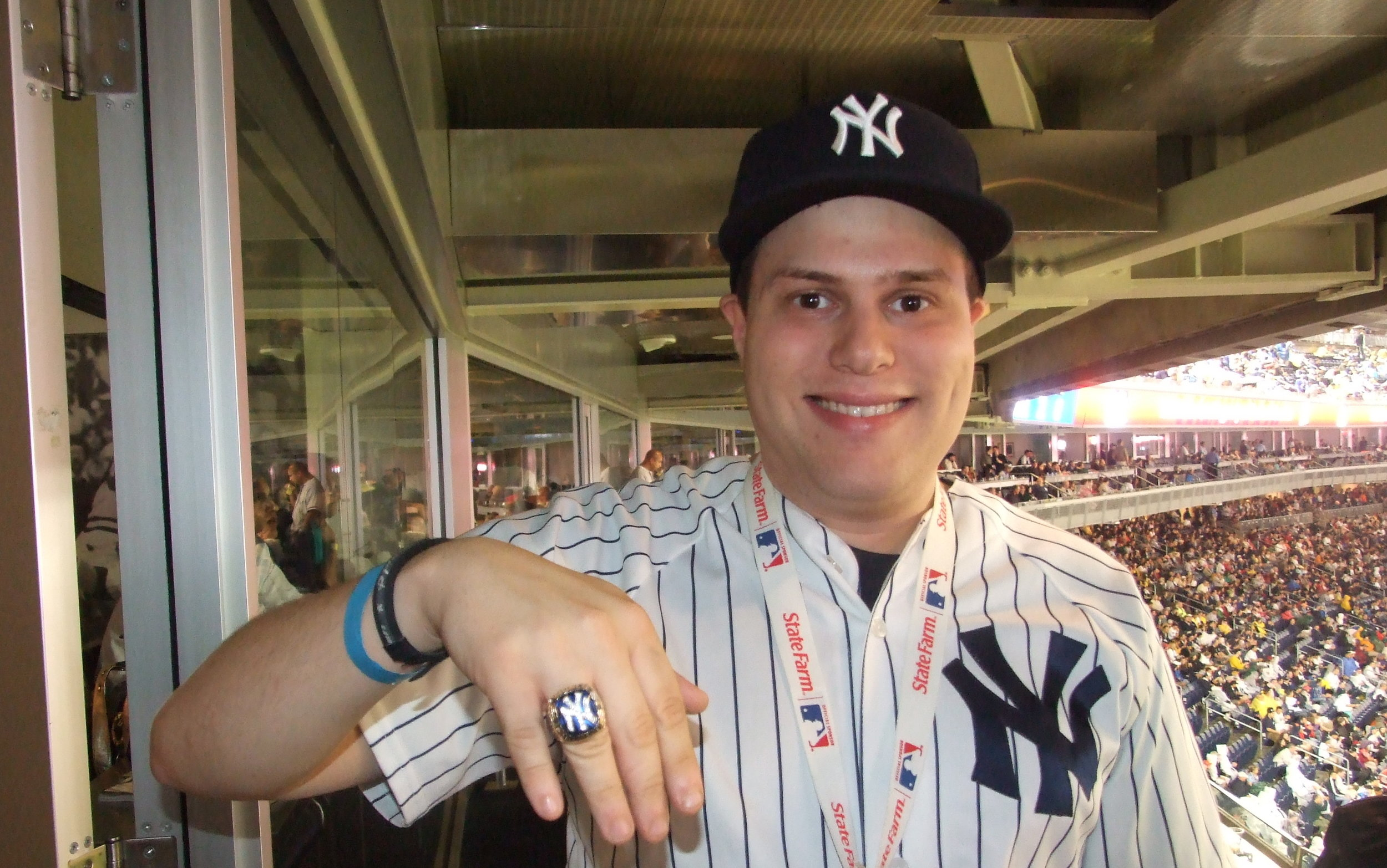 Steve wearing World Series ring.JPG