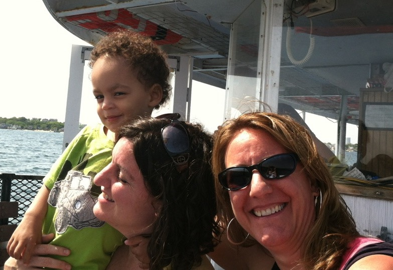 Sara, Lisa, Lucas on boat.jpg