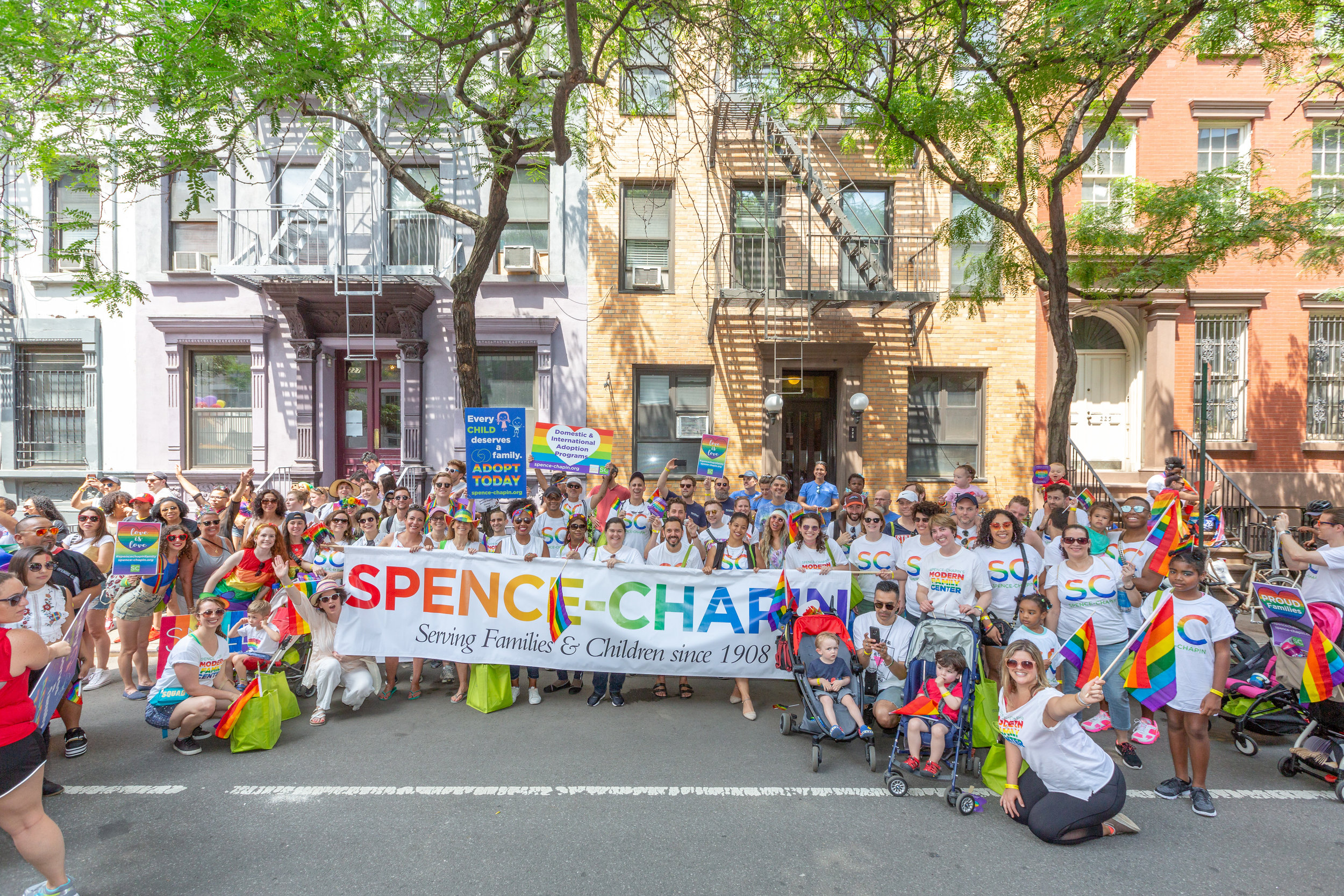 Spence-Chapin 2018 NYC Pride March Pictures - Sunday, June 24, 2018West Village, NYC