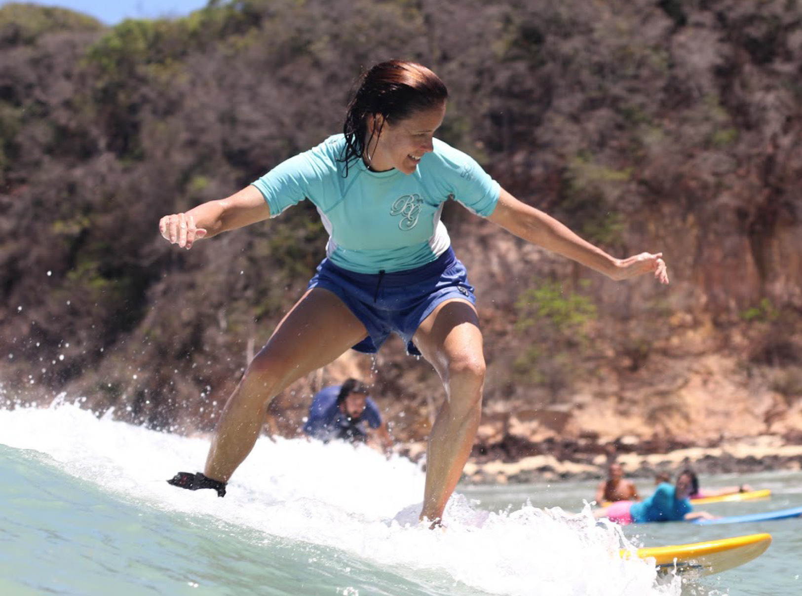 About Laura - Job DescriptionDirector of an after-school program for high school studentsHobbiesTraveling, hiking, surfing, Capoeira (Brazilian martial arts), dancing, and foster rescue dogsFun FactLaura learned how to swim when she was two years old
