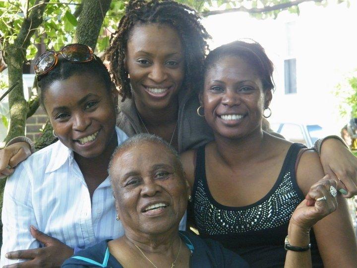 Sonya, sisters and grandmother.jpg