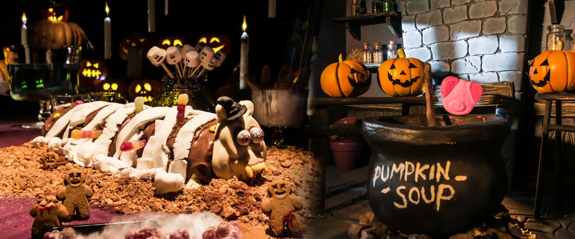 M&S   halloween creations