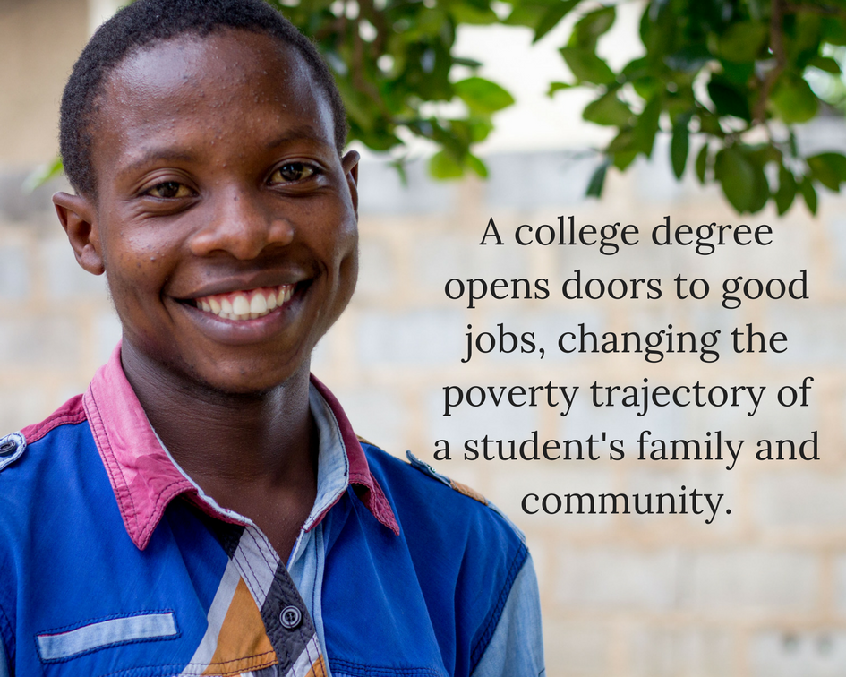 A college degree opens doors to good jobs, changing the poverty trajectory of a student's family and community..png