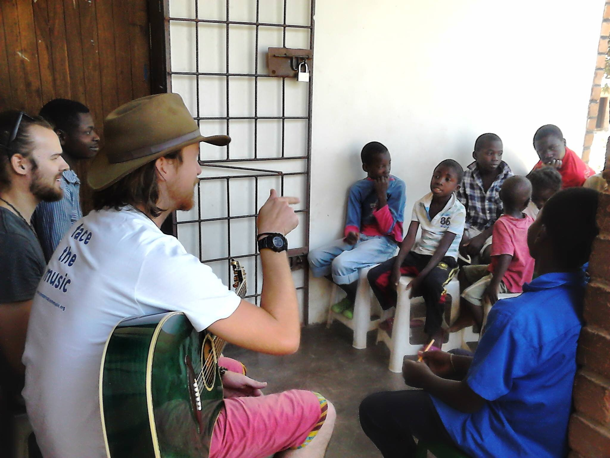 Partner  Conservation Music  worked with our students to create songs about saving the environment.
