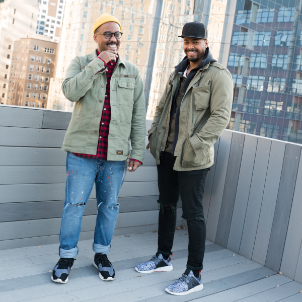 Directing-duo Jamaal Parham and Bashan Aquart. - We make commercials... and other things here and there.We are currently creative directors at AKA NYC.