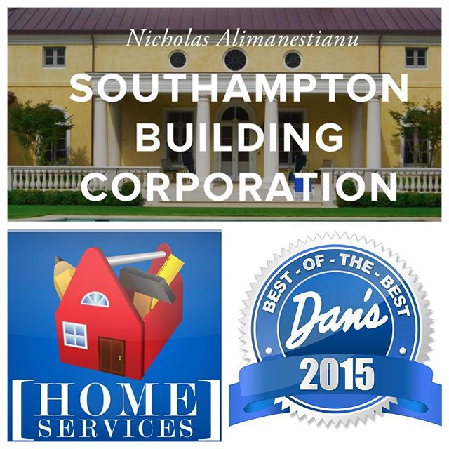 Thank you for nominating Southampton Building Corporation for @danspapers' Best of the Best Building Construction AND Contractor! Voting is now open. Please see the link in our profile and make sure to click the blue VOTE button at the bottom of each category to register your vote. Your support is greatly appreciated!