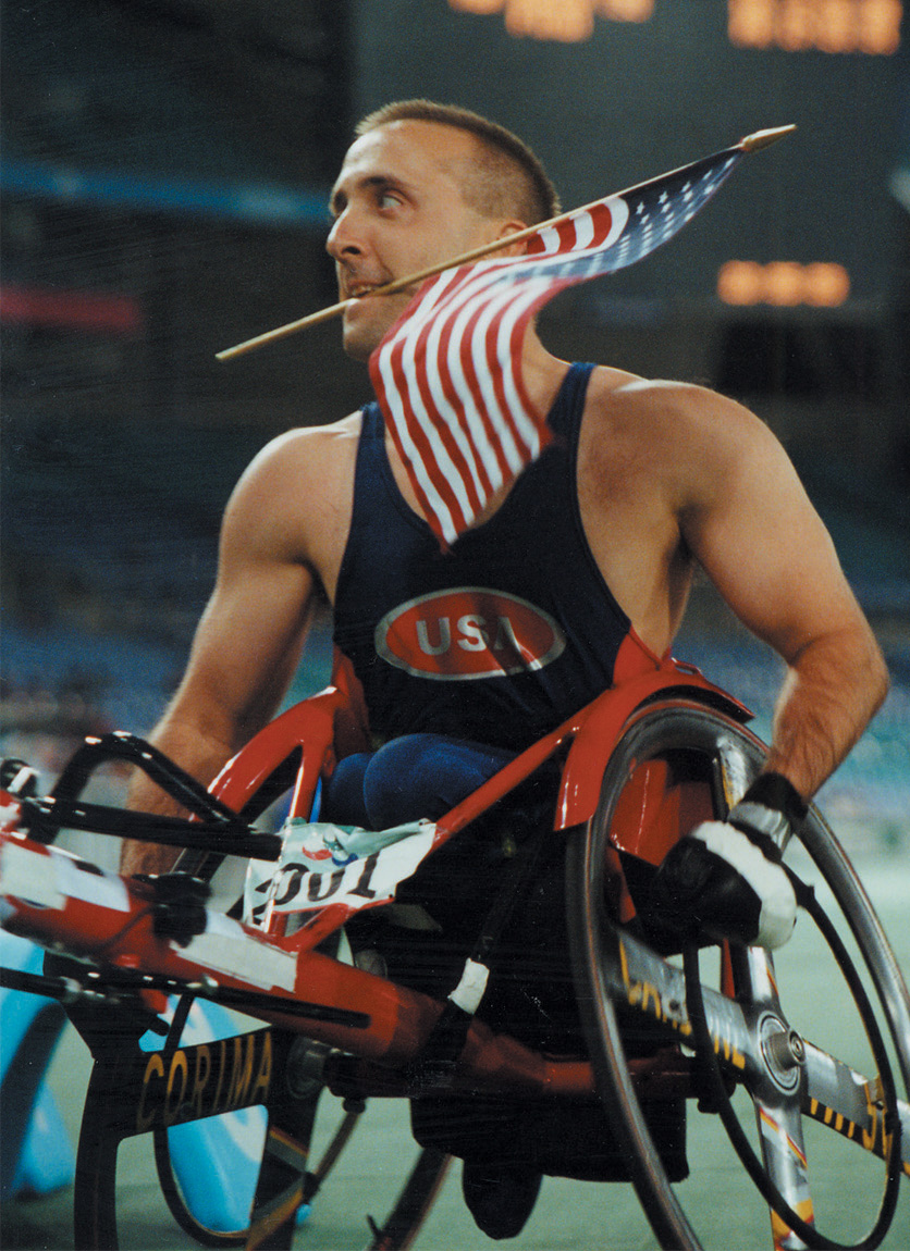Paul Nitz is a four-time Paralympic Gold Medalist