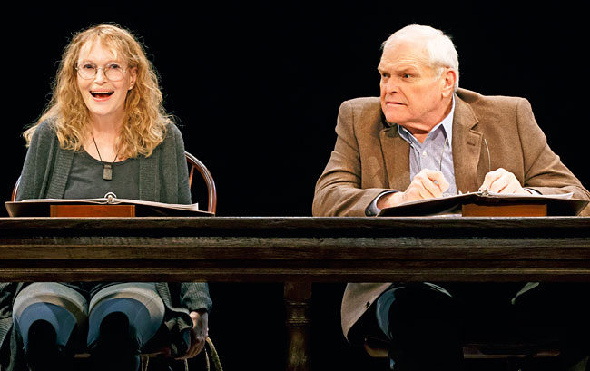 Brian Dennehy and Mia FarrowSeptember 13th - October 10th