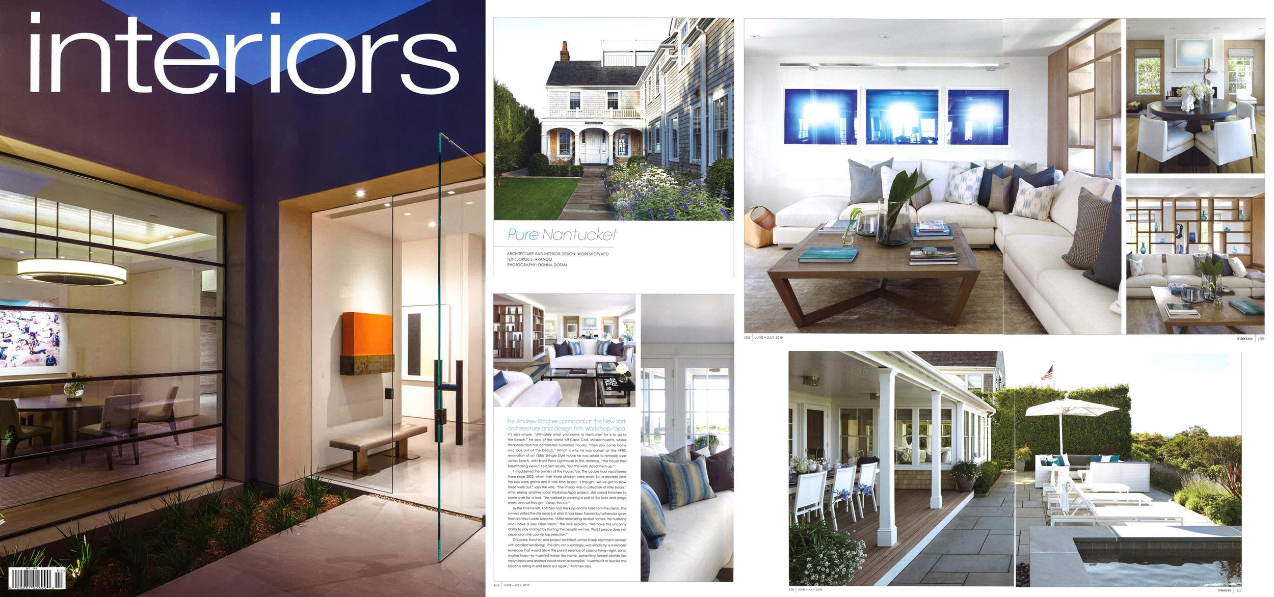 Interiors Magazine - July 2015