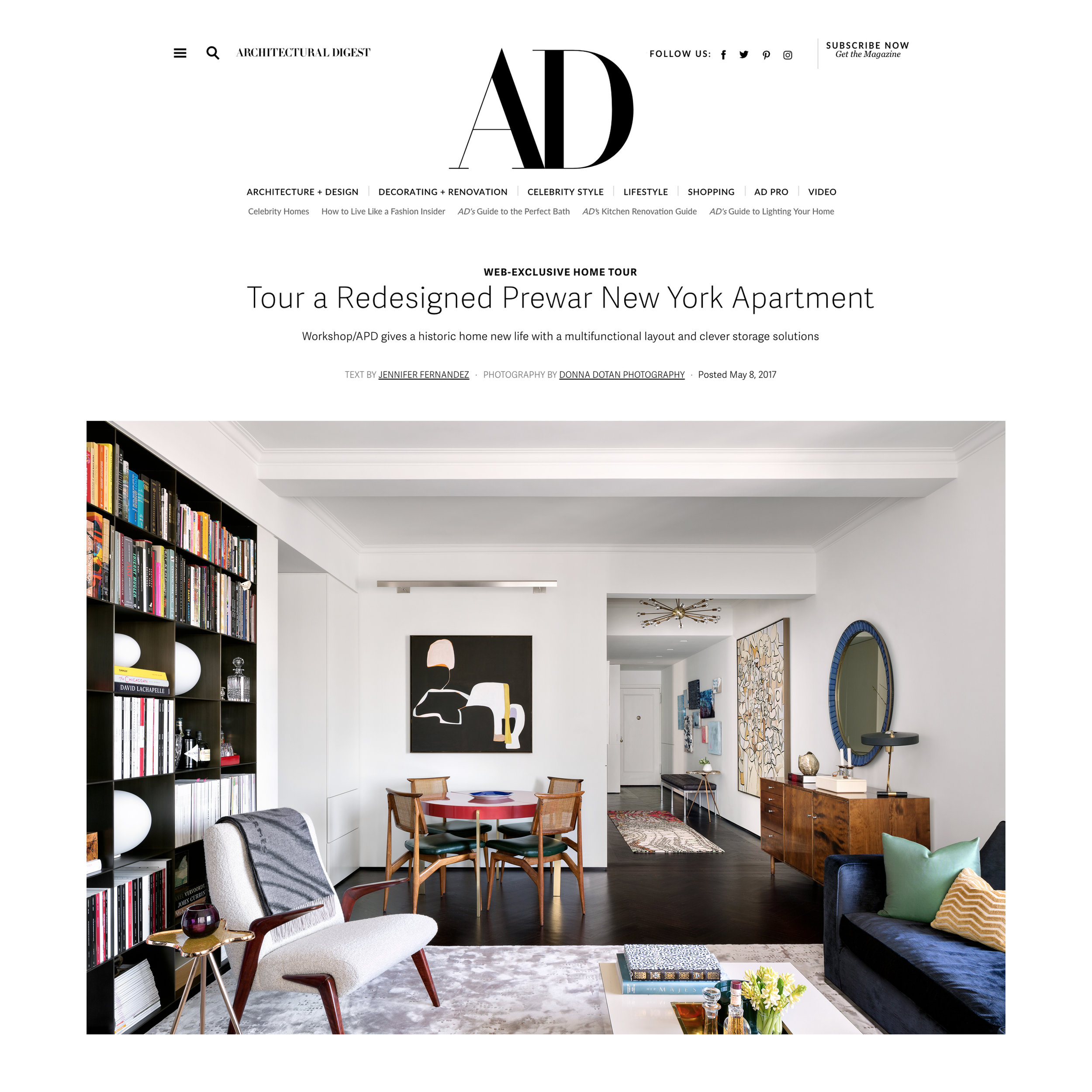 Architectural Digest - May 2017